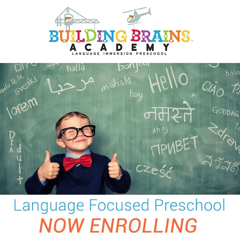 Building Brains Academy - Early Enrollment