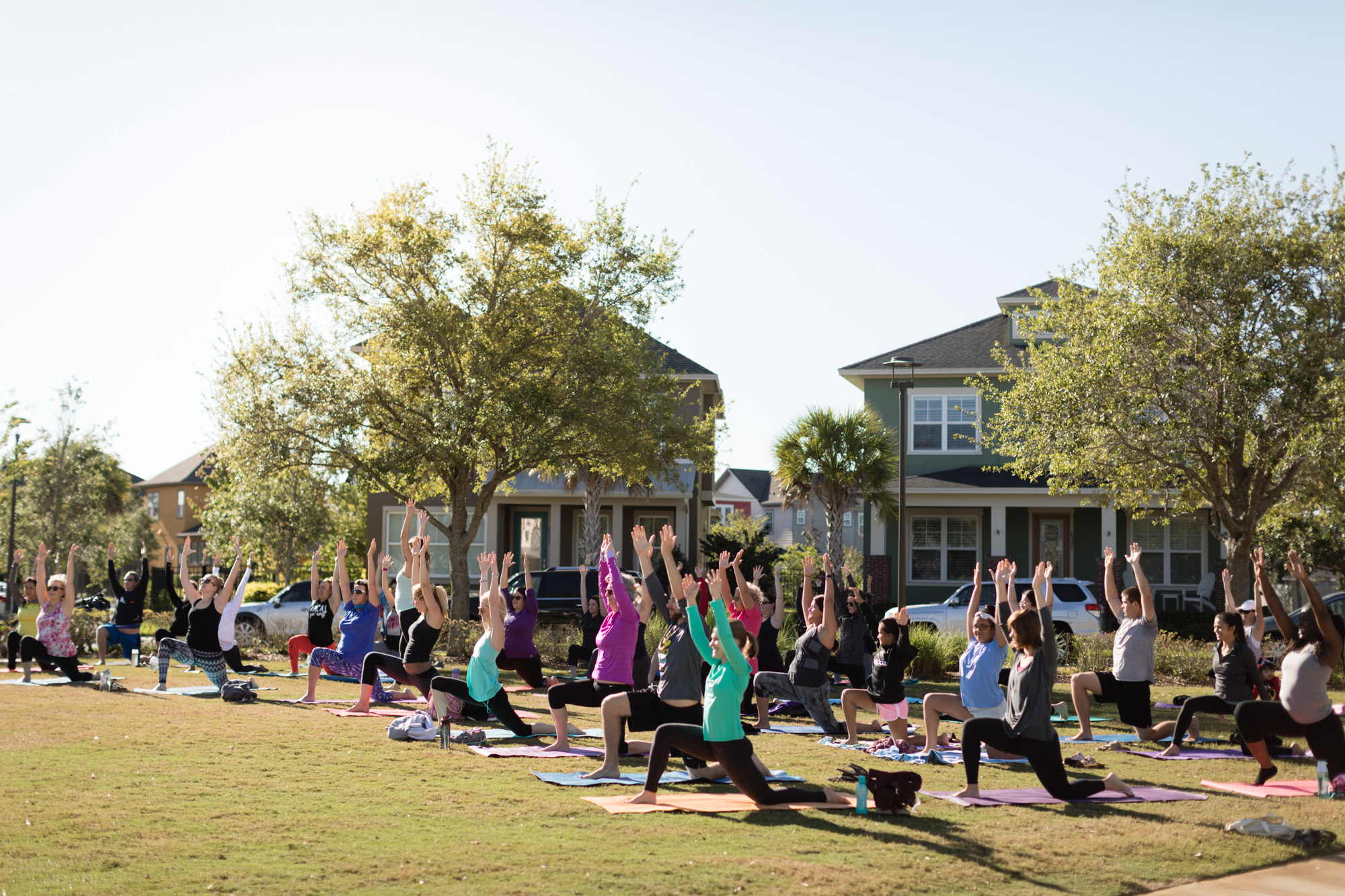 Yoga Nona Sponsored by Lake Nona Life Project