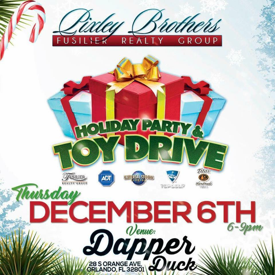 Pixley Brothers Holiday Party & Toy Drive