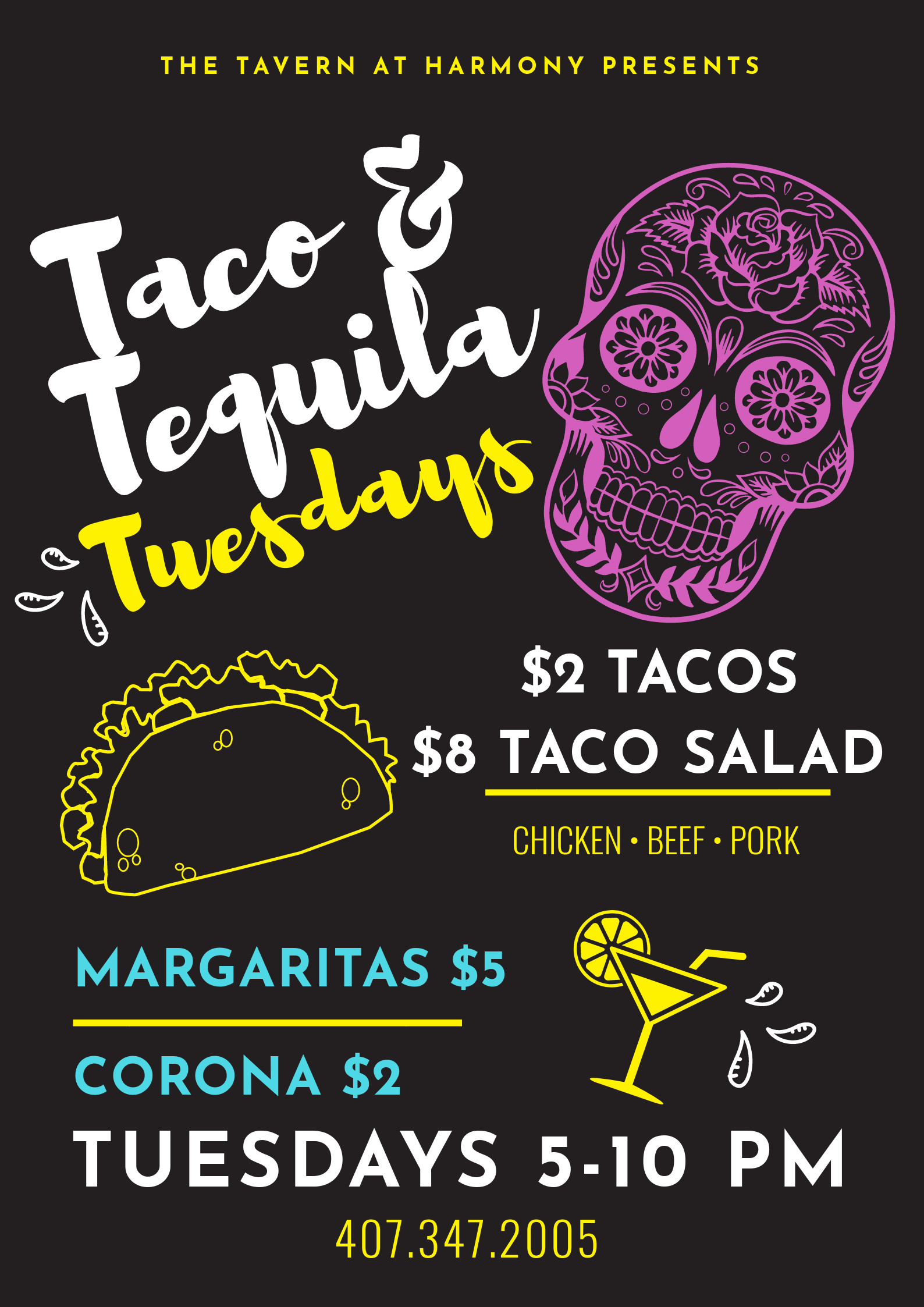 Taco and Tequila Tuesday